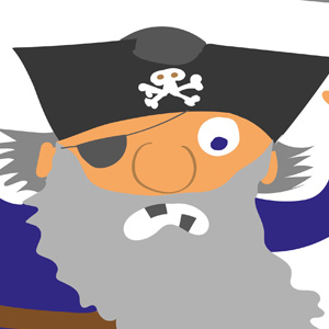Pirate scare